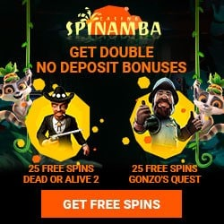 Spinamba Casino 50 free spins no deposit