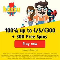 Kassu Casino welcome bonus