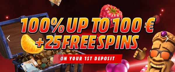 Rich Prize Casino welcome offer
