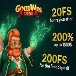 Goodwin Casino 20 no deposit free spins