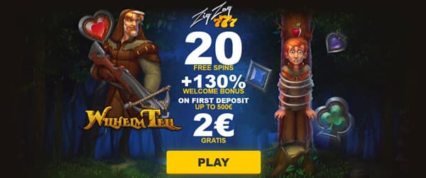 ZigZag777 casino welcome offer